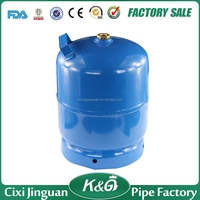 Made in China Nigeria item 3kgs gas cylinder for burners, LPG cylinders, blue color gas cylinder