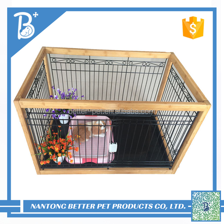 Pet Crate Kennel Sturdy Metal Large Dog Cage pet products For Big dog