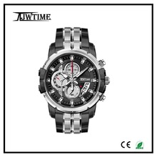2016 fashion quamer watch dual timer on board relojes,watches men luxury japan movt quartz watch stainless steel back