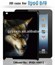 Top grade animal shape case for ipad 3,radiation protection case for ipad