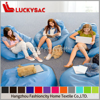 PU leather bean bag/pear shape bean bag chair/luxury bean bag