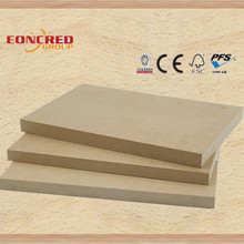 18mm standard sizes mdf thickness/mdf plywood price