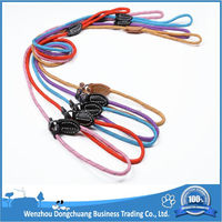 Good Quality Stitching Safety Nylon Pet Rope Slip Dog Lead