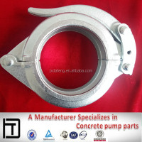 Putzmeister 4 inch concrete pipe clamp