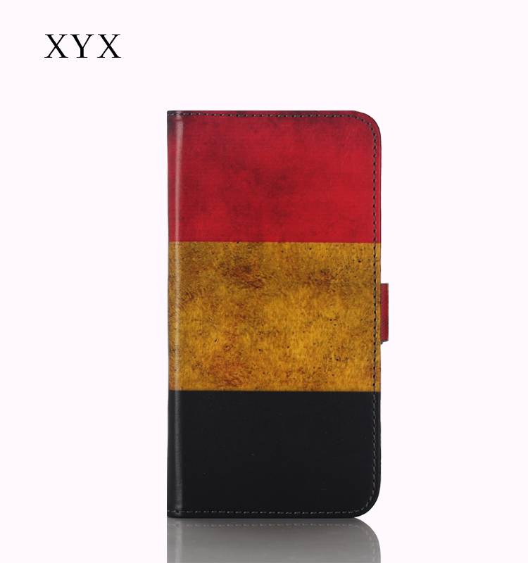 National Country Flag Mobile Phone Leather Case For Samsung Galaxy J1 Ace