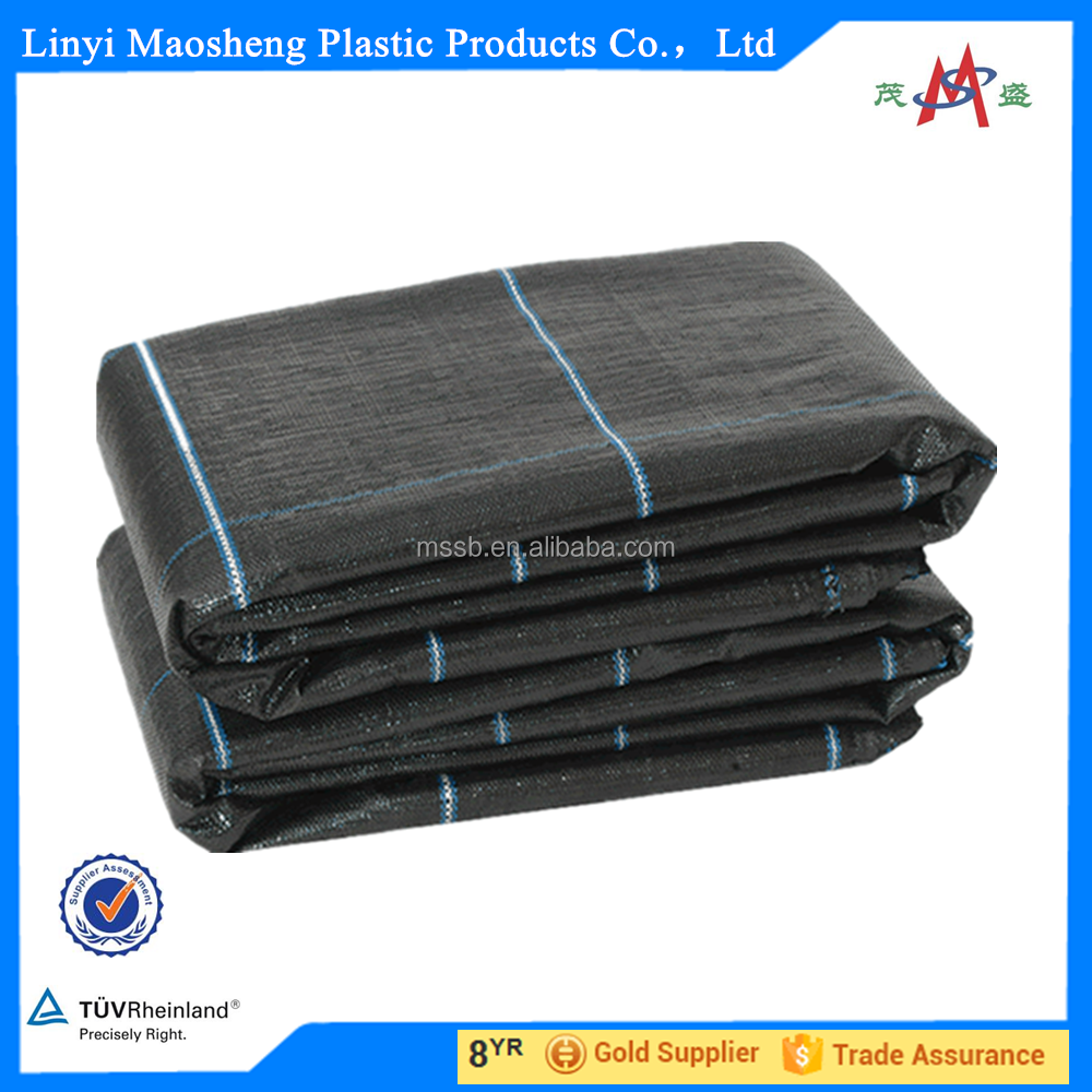 black plastic ground cover