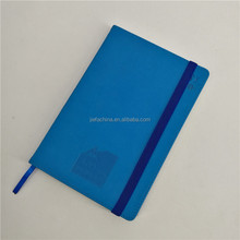 Factory directly stationery supplier leather bound hard cover pocket notebook