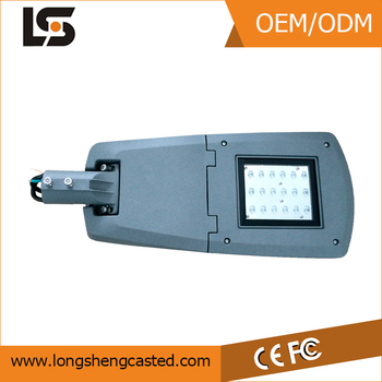 Hot sale factory supply led street light housing 60w for led outdoor lighting fixtures