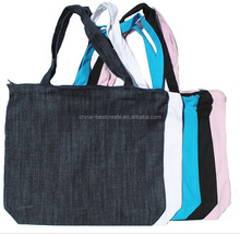 "18""x14""x4"" 10oz heavy color cotton canvas tote bags with zippered top and bottom gusset. 24"" handles from china factory"