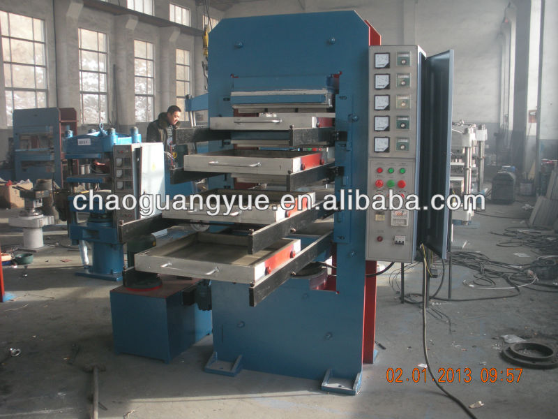 Hydraulic Tile Press Vulcanized Rubber Mold machine/Floor Brick Vulcanizing Press