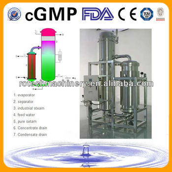 Pure Steam Generator (FDA and cGMP standards)