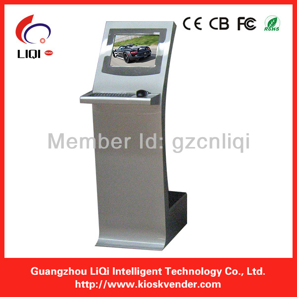 17inch Self Service Touch Screen Payment Kiosks Information Manufacturer
