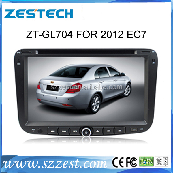 ZESTECH Wholesale in car entertainment for geely emgrand ec7 2012