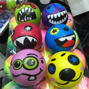 Cute Fashion Stress PU Squeeze Balls Stress Sponge Solid Bouncing Vent Foam Funny Animal Toy Ball