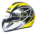 High Quality full face Helmet WLT-105 lemon/silver 4#