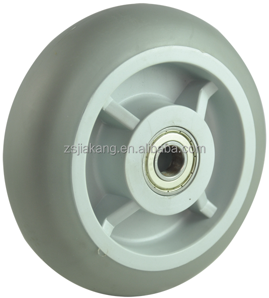 TPR wheel, double ball bearing( bearing steel bearing), PP rim