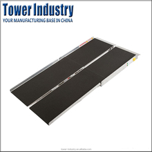 Customized Aluminum Folding Portable Car Wheelchair Ramps