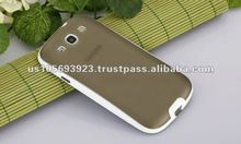 IMPRUE Clear pc back+TPU frame combo mobile phone case for Samsung Galaxy s3 I9300