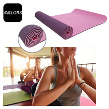 Melors TPE Customized Size Yoga Fitness Mat Wholesale