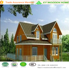 prefab timber villa house with best price