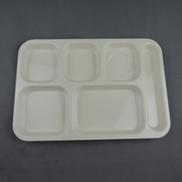 New arrival Good capacity JoyHome multi tray plastic tebleware square rectangle food melamine tray