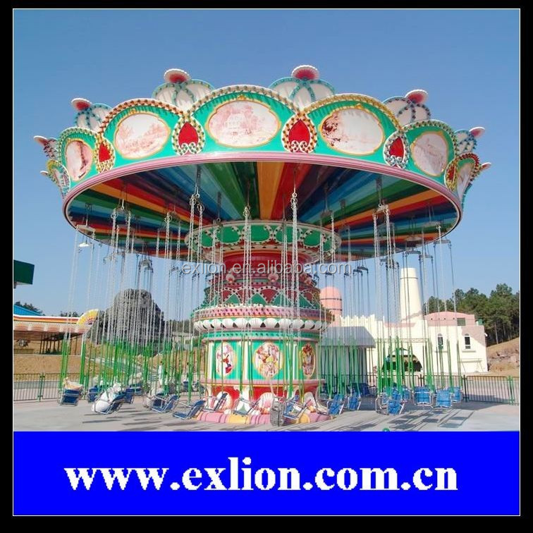 large theme park games amusement flying chair