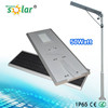 50W Solar Street Light With Pole