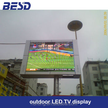 full color p16 high brightness outdoor LED display screen module
