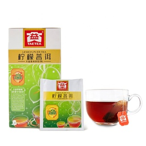 Certified Organic Lemon Tea Lemon Pu Er Fermented Tea Most Effective Slimming Teabag