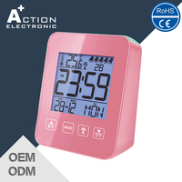 Fashion DCF radio controlled desktop digital clock