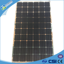 Factory direct manufacturer 250w Double glass transparent solar panel for commercial