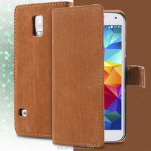 Magnet Leather Flip Case For Samsung Galaxy S5 I9600 , For Samsung S5 Case Leather