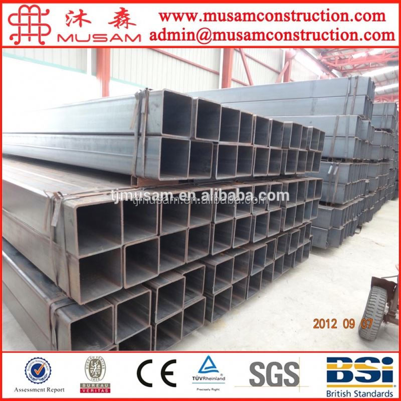 Thin wall ew square welded steel pipe