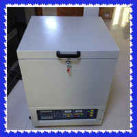1700 Crucible Box Furnace, Crucible Muffle Furnace with 30 Segments Program and Auto Control