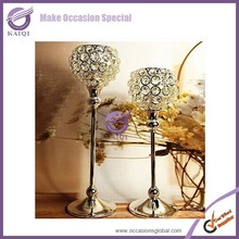 ZT00060 Cheap Crystal Candelabra Candle Holders Wedding Table Centerpieces Decoration