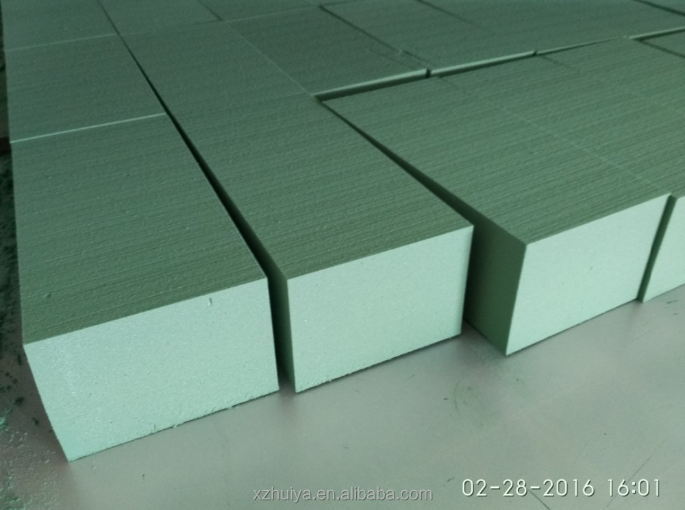 Special price of dark green Wet floral foam for New Year
