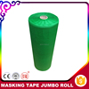 Wholesale United States Manicure Use Crepe Paper 150mic Auto Green Masking Roll Jumbo Tape