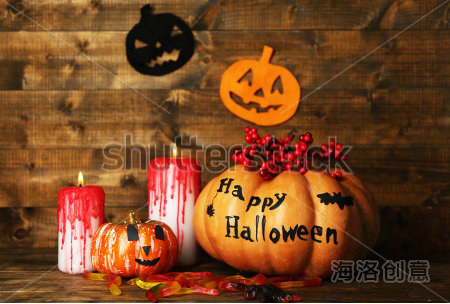 Canvas prints cheap china decorative items fiber optic halloween pumpkins