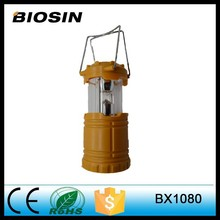 Excellent quality Hot sale 3*AAA BIOSIN NO switch plastic camping light