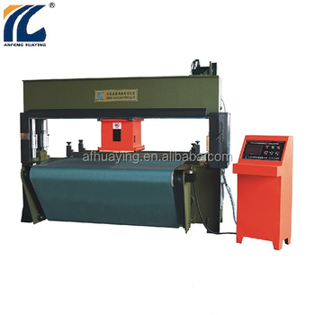 30 tons automatic plastic hydraulic travel head cutting press