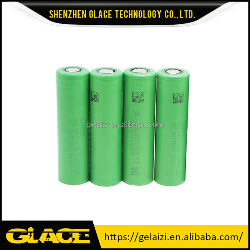 cheap VTC5 3.6V li ion 2600mah rechargeable 18650 battery for power tools