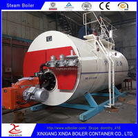 Xinda WNS Series 6 ton Oil or Gas fired Steam Boiler export to Russia