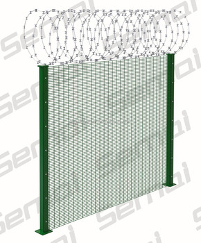 China Manufacturer Galvanized PVC Coated 358 Anti Climb Fence Price