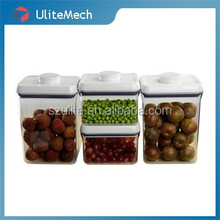 Food grade clear air tight container