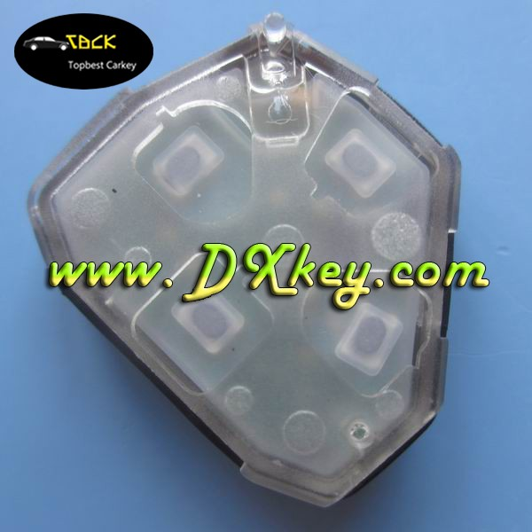 Car Master Key 4 buttons 433mhz remote control for remote key toyota rav4 use for Camry Corolla Highland and vios