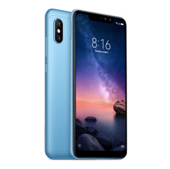 EU version xiaomi redmi note 6 pro 4gb+64gb dual ai rear cameras 6.2 inch xiaomi redmi note6 pro newest phone