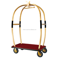 Hotel Hand Luggage Trolley With Four