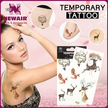 NEWAIR Fashionable water transfer temporary tattoos