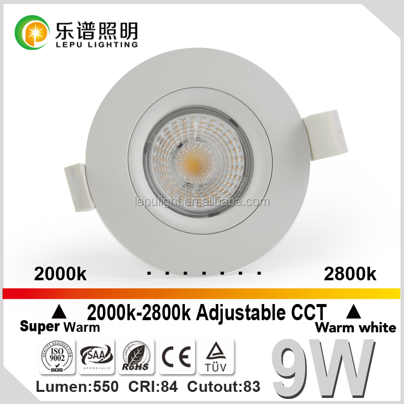 Newest COB downlight with ACTEC NEMKO driver without ceiling box