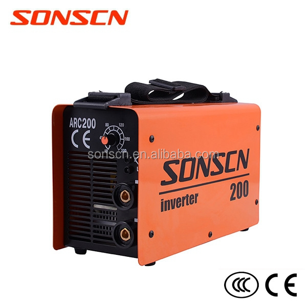protable dc ac inverter igbt mma welding machine equipment (ARC200)